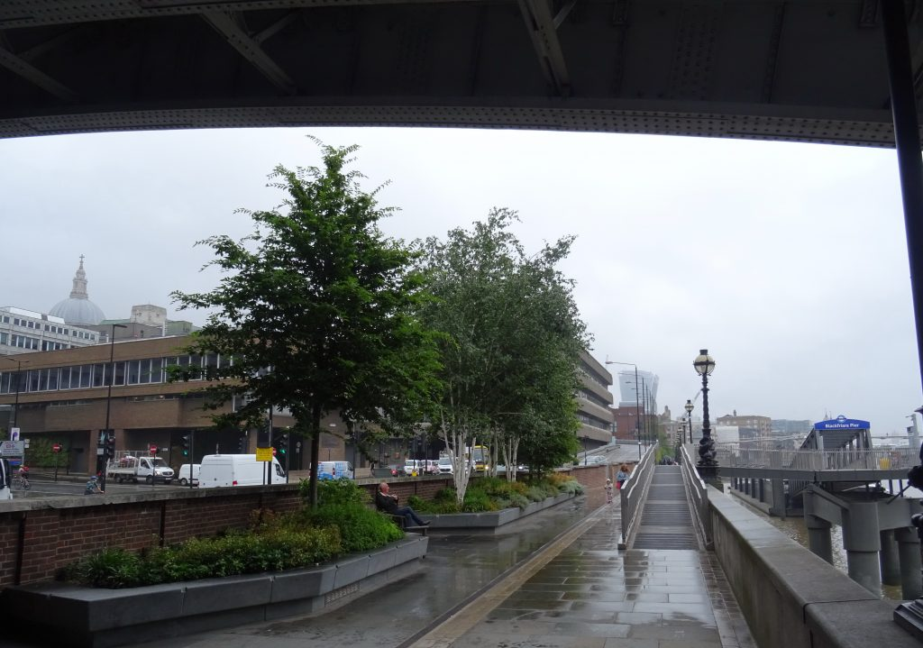 London, Blackfriars Bridge