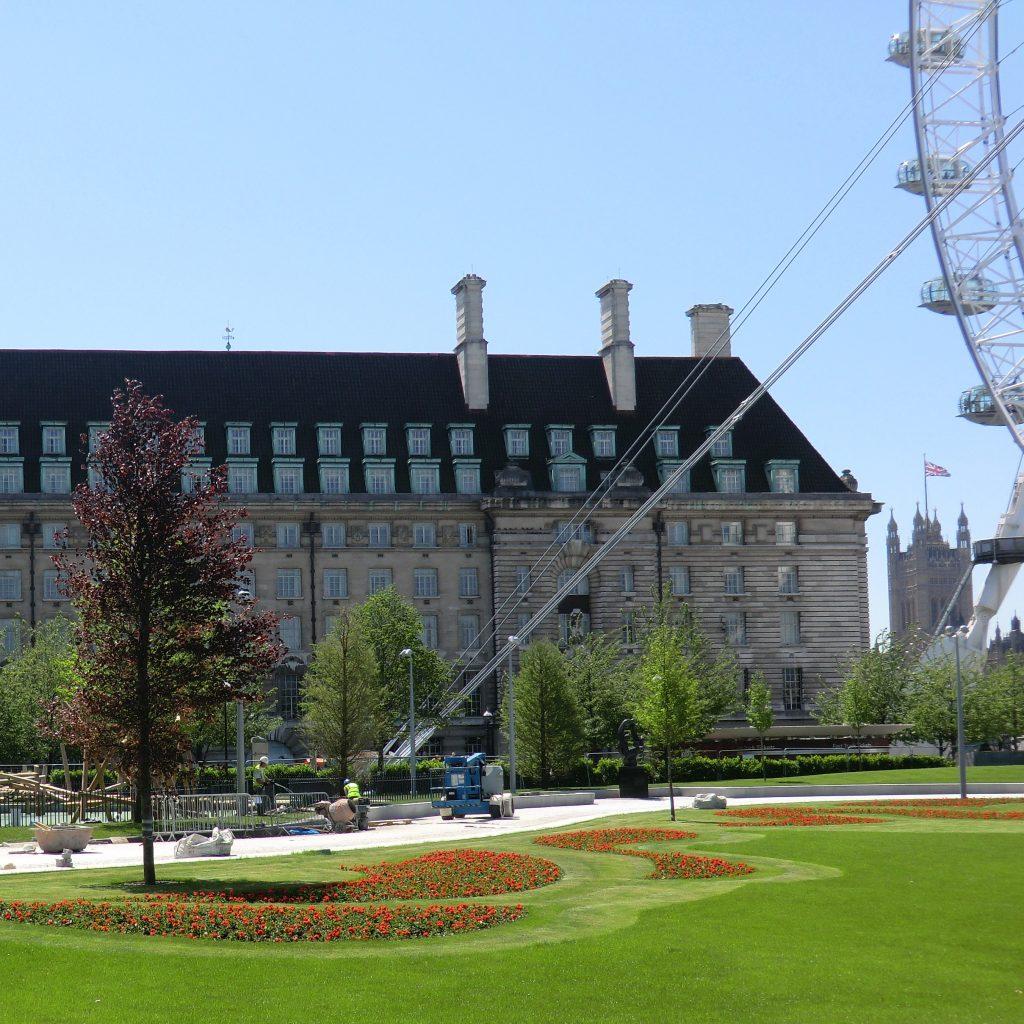 London, Lambeth, Jubilee Gardens